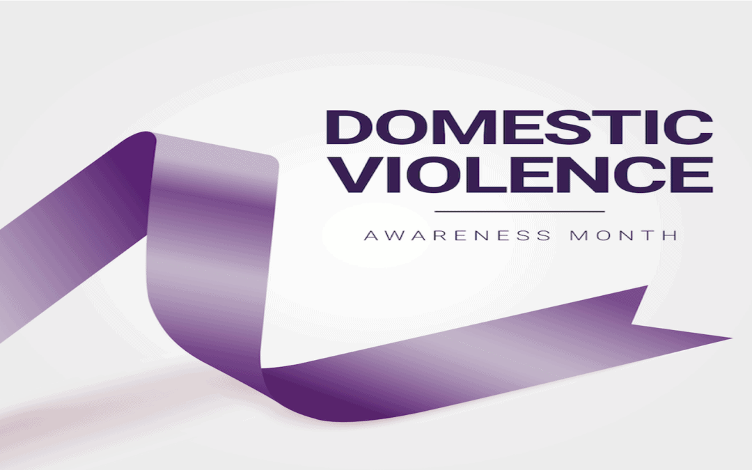 "October is National Domestic Violence Awareness Month; Dispelling ""The Victim"" Stereotype"