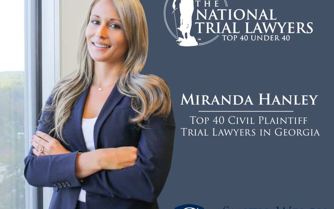 Miranda Hanley Selected to National Trial Lawyers 40 Under 40